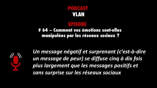 PODCASTZAP sélection des meilleurs épisodes de podcast Vlan épisode 64