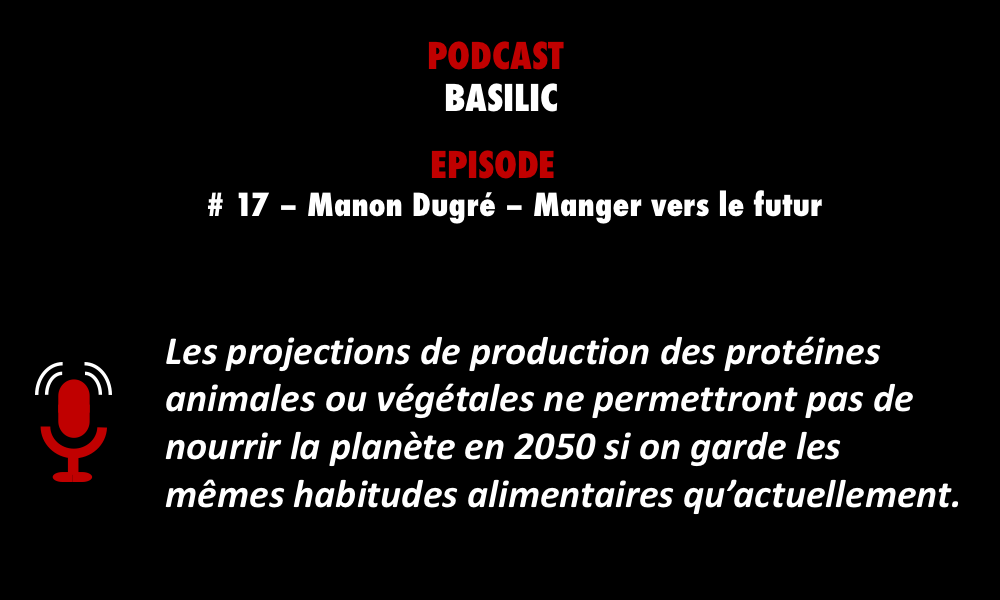 Meilleur épisode podcast BASILIC Manger vers le futur PODCASTZAP