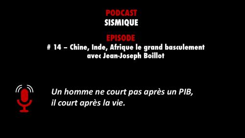 Découvrez l'un des meilleurs épisodes de podcasts sélectionnés par PODCASTZAP : Sismique épisode 14