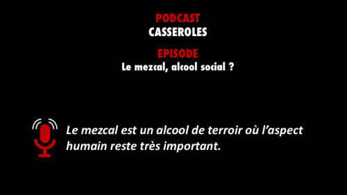 PODCASTZAP : Casseroles le mezcal
