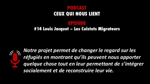 PODCASTZAP : Ceux qui nous lient épisode 14 avec Louis Jacquot