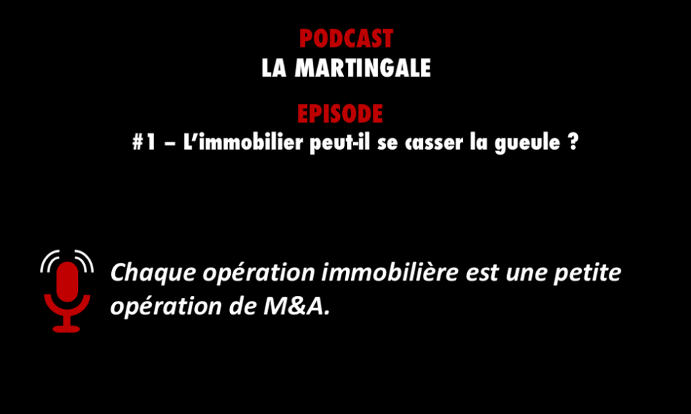 PODCASTZAP - La Martingale podcast