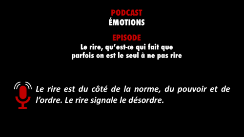 Emotions le rire