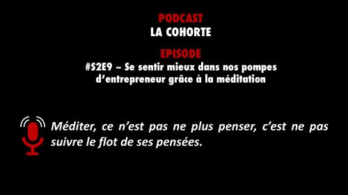 Découvrez l'un des meilleurs épisodes du podcast La Cohorte