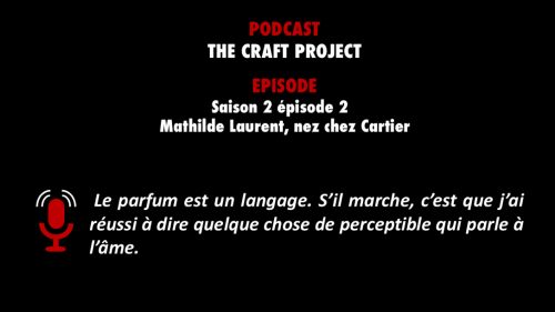 The Craft project - nez chez Cartier