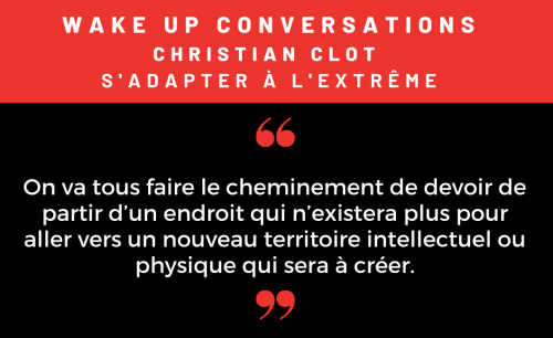 Podcast Wakeup conversations épisode 10